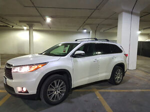 2016 Toyota Highlander XLE (lease takeover)