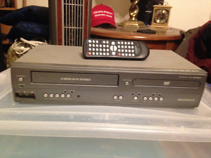 Magnavox 4 Head VCR/DVD Player/Recorder