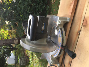 Mitre saw delta shopmaster 10""