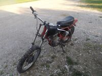 Dirt Bike for parts or to fix.