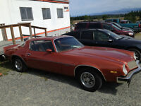 1975 Chevrolet Camaro LT to be sold at Auction for Charity