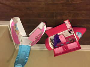 Barbie Plane and Boat