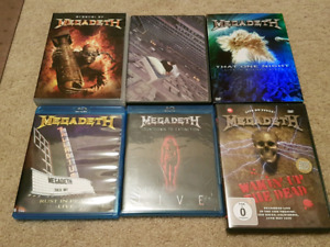 Megadeth & Gigantour Dvd Collection