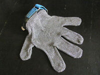 Chainmail Steel Metal Mesh Butcher's Hunter's Glove Size L/XL