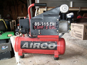 PORTABLE  AIR  COMPRESSOR  120  VOLT  AS  NEW .