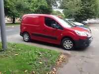 2009 09reg Peugeot Partner 1.6 HDI Red 11 months mot cheapest new shape around
