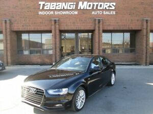 2015 Audi A4 S-LINE | NO ACCIDENTS | LEATHER | SUNROOF | HTD SE
