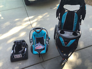 Baby Trend Combo-Car seat and jogging stroller
