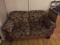 Matching 3 seater & 2 seater love seat sofa for sale