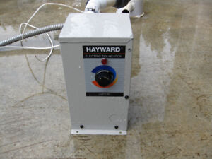 Hot Tub Heater and Filter