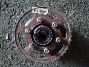 Rear sprocket cush drive yzfr6 r6 99 00 01 02 yamaha yzf wheel 6