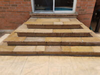 Flagstone and stone