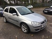 2003 VAUXHALL CORSA DESIGN SEMI-AUTO SILVERBARGAIN PX TO CLEAR ONLY 49000