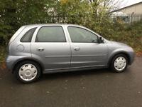2006 06 Vauxhall Corsa 1.2i 16v Design 5dr FSH 1 OWNER FULL MOT CHEAP TAX 40 MPG