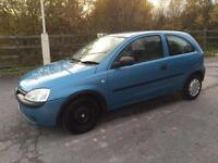VAUXHALL CORSA 2002/51 1.0 MY CLUB PETROL - MANUAL - LOW MILEAGE