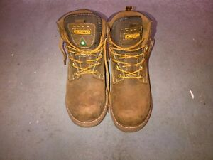 steal toe working boots