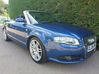 2008 Audi A4 T FSI S LINE SPECIAL EDITION CVT Convertible Petrol Automatic