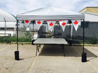 Now Booking Pop-Up Canopies | Rent for Spring/Summer 2019