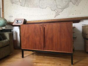 Meuble de bureau vintage (avec mini bar) - Danemark