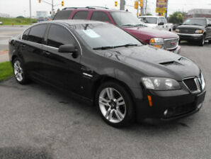 2009 G8 SPORT  SUNROOF  LOADED  V6  A MUST SEE CAR !!
