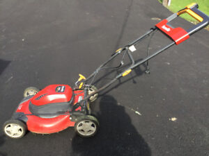 "Homelife electric corded 12 amp 20"" Lawnmower"