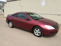 2005 Honda Accord EX-L Coupe (2 door) Only 123K!
