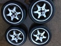 "16"" Honda Civic sport 4 stud cheap wheels"
