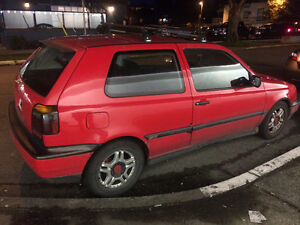 1997 Volkswagen Golf Hatchback