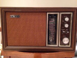 Sony Radio 1970's