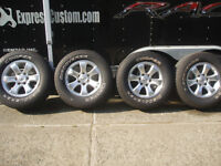 2000 plus Toyota 17x7 6stud alloy rims and tires