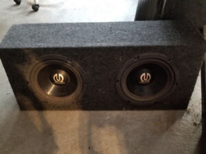 Car sound system components