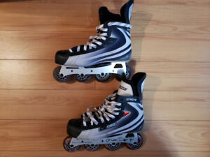 Bauer and Firefly Rollerblades size 10