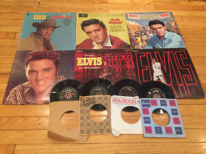 Elvis Presley - various LPs and 45s