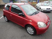 Toyota Yaris 1.0 VVTi Red 2001MY Colour Collection