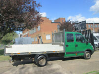2005 55-REG Iveco Daily 3.0 HPT 35C14 LWB DOUBLE DROPSIDE TRUCK 12FT ALLOY BODY