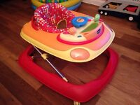 Chicco Band Baby Walker - red/yellow