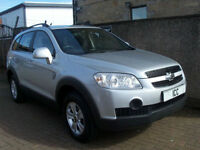11 11 REG CHEVROLET CAPTIVA 2.0 LS VCDi 5DR DIESEL VERY LOW MILEAGE ALLOYS A/C