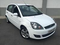 2008 08 Ford Fiesta 1.4TDCi.25MY Zetec Climate 3 DOOR IN WHITE**£30 Year Tax**