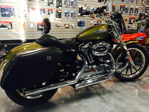 Clean two-tone Sportster with lots of extras!