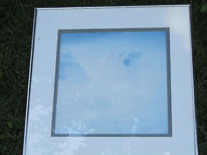 Nature picture framed