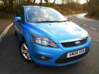 2008 08 FORD FOCUS 1.6 ZETEC 5D 100 BHP ** ONLY 2 PREVIOUS OWNERS, YES ONLY 74,9