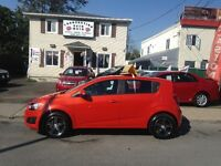 Chevrolet   SONIC 5  LT  2013 Sport  28000 KM   Wow!!!!!!! ouch!
