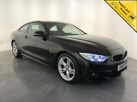 2015 BMW 420D M SPORT DIESEL AUTOMATIC COUPE 1 OWNER SERVICE HISTORY FINANCE PX