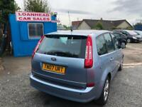 2007 Ford C-MAX 1.8 PANORAMIC SUNROOF 3 MONTHS WARRANTY MOT MARCH 19