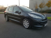 2008 PEUGEOT 207 1.6 HDI TD SW - 1 GENTLEMEN + 1 LADY FROM NEW - LOVELY EXAMPLE