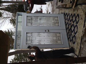 New entrance door