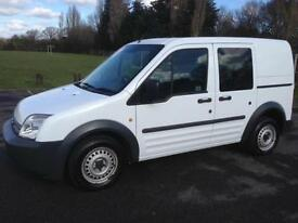 2010 FORD TRANSIT CONNECT CREW VAN 5 SEATER