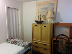 Room for rent (all included) 5 min from Ottawa downtown