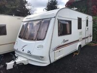 Elddis firestorm 🔥 4 berth end bath touring caravan 2002