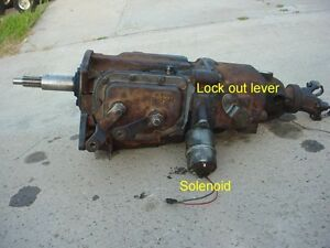 Wanted: Overdrive transmission to fit 1951 Plymouth.